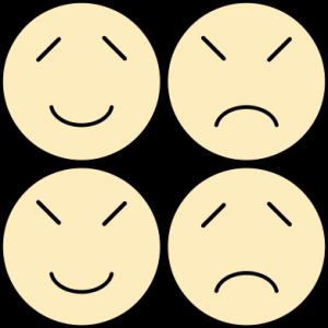 Phlegmatic, Choleric, Sanguine, and Melancholic