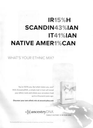 AncestryDNA ad